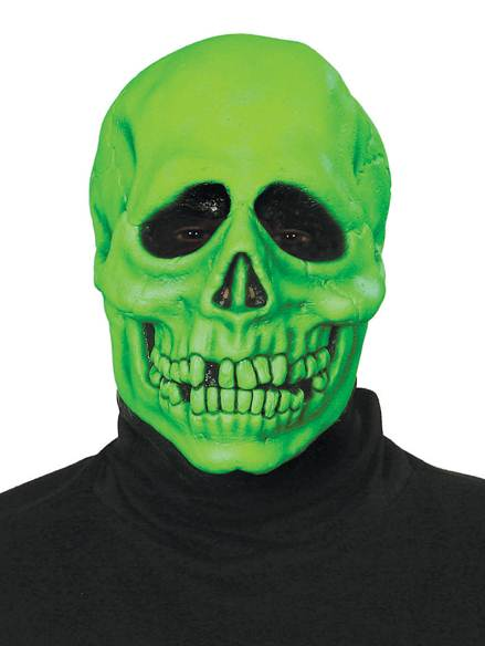 Veridian Skull Mask